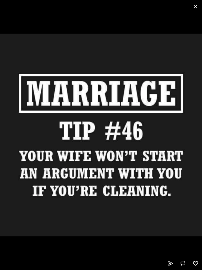 marriage and housecleaning
